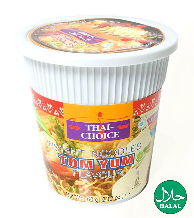 〔Thai Choice〕手軽に楽しめるタイの味 カップ入りインスタントヌードル - トムヤム味の写真