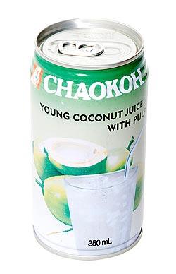 ココナッツジュース 果肉入り 缶[350ml]