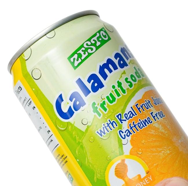 ゼスト カラマンシーハニーフルーツソーダ味 缶[330ml]Zesto calamansi 2 - カラマンシーの実です。オレンジ色や緑色のものもあります。