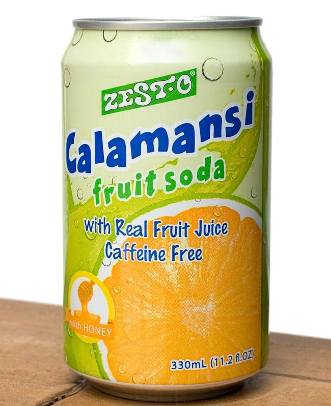 ゼスト カラマンシーハニーフルーツソーダ味 缶[330ml]Zesto calamansiの写真