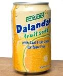 インドとアジアの食品・食材のセール品:[夏のセール]ゼスト ダランダンフルーツソーダ味 缶[330ml]Zesto DalandanFruitSoda