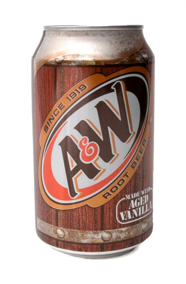 A&W ルートビアー 缶[355ml]A&W RootBeerの写真