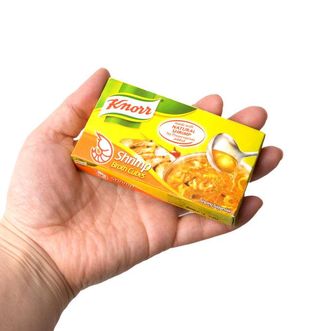 エビ キューブ 60g  - Shrimp Cubes 【KNORR】 4 - この箱に6個入っています。