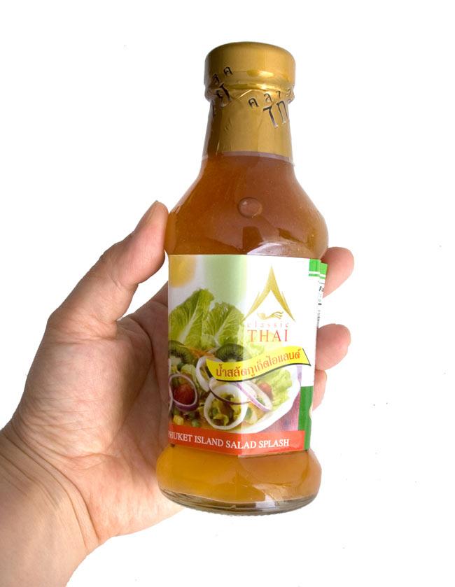 タイ サラダ ドレッシング - プ—ケット サラダ スプラッシュ 【Classic Thai】の写真2 - ごま油を使ったりして美味しいです。どの辺がプ—ケットスタイルなのか・・・