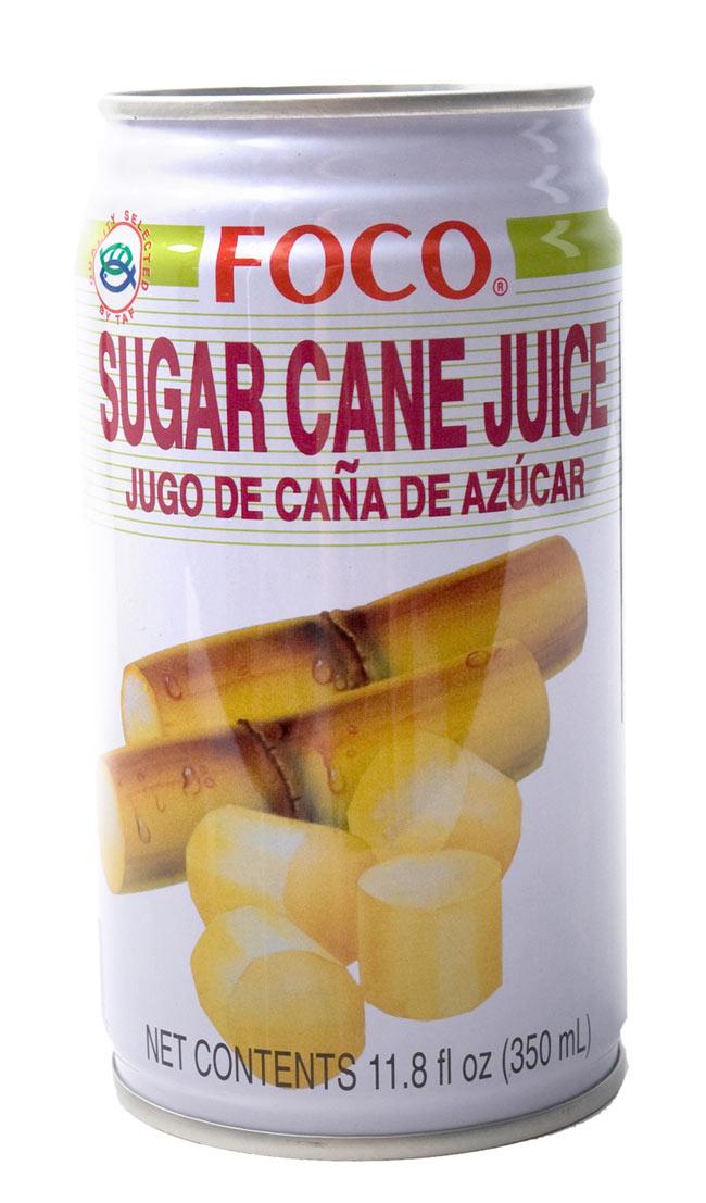 サトウキビジュース(甘庶汁) 缶 [350ml] 【FOCO】の写真