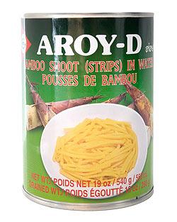 竹の子の水煮 細切り缶 [540g](FD-THAI-211)