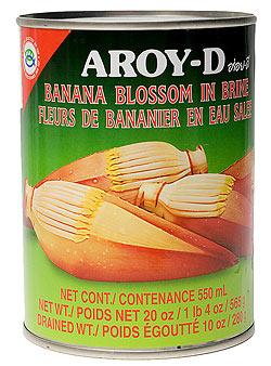 バナナ ハート(バナナの花)[565g](AROY-D)(FD-THAI-245)