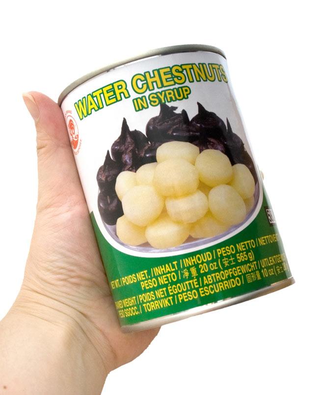 クワイ 缶詰 [565ml](COCK)の写真2 - 写真