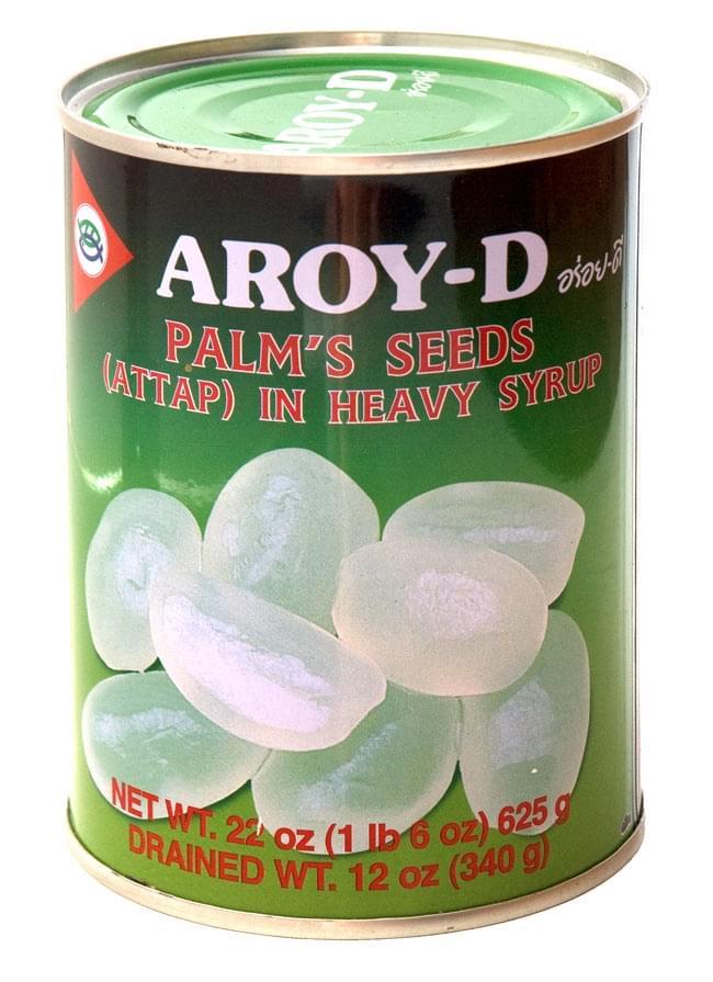 パームシード【アタップ】缶 [670g](AROY-D)の写真