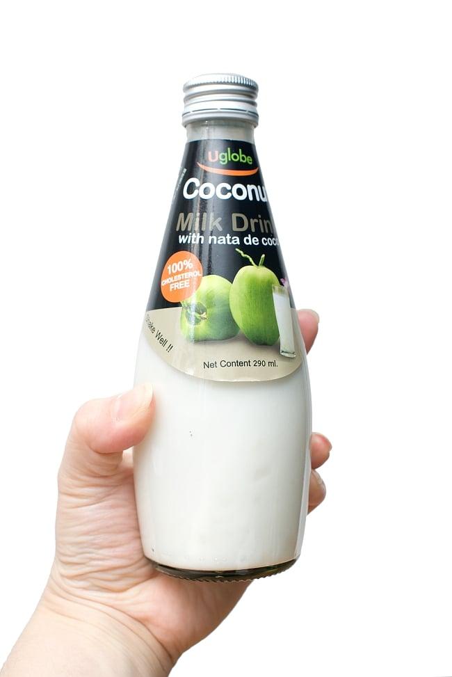 ココナッツミルクドリンク ナタデココ入り ‐ Coconut Milk Drink With Nata de coco 【U globe】 2 - 写真