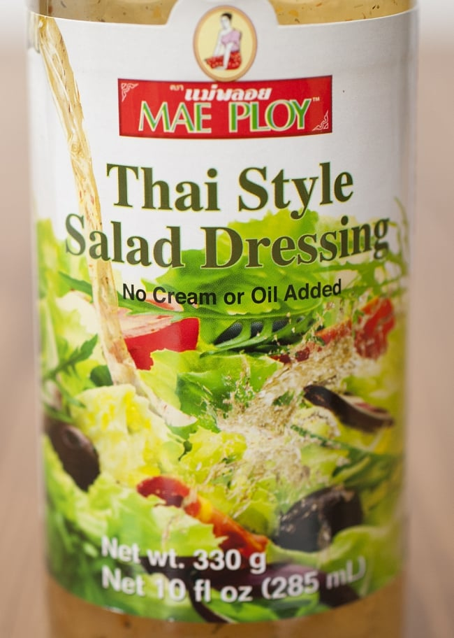 【MAE PLOY】タイ風サラダドレッシングの写真2 - ラベル