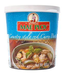 カントリー風 レッド カレー ペースト [400g] 〔MAE PLOY〕(FD-THAI-89)