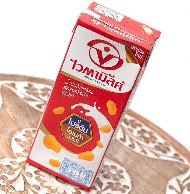 豆乳 (バイタミルク) 紙パック[250ml] 3 - 斜めから撮影しました
