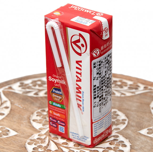 豆乳 (バイタミルク) 紙パック[250ml] 4 - 裏面です