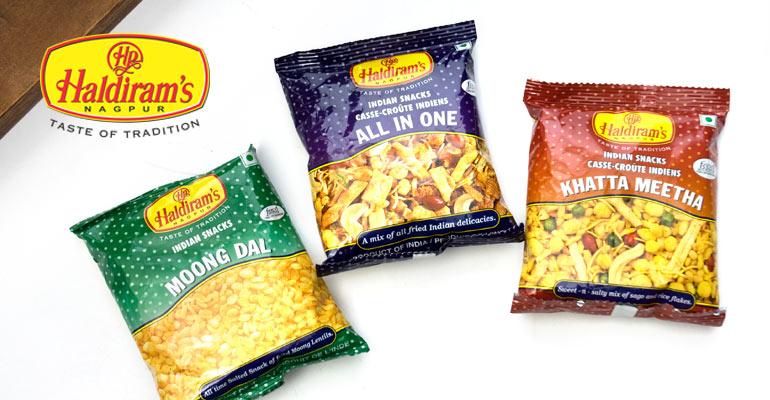 インドの食品・食材 - ハルディラム - Haldirams