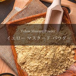 イエロー マスタード パウダー Yellow Mustard Powder【500gパック】(ID-SPC-103)