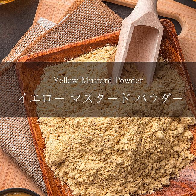イエロー マスタード パウダー Yellow Mustard Powder【500gパック】の写真1