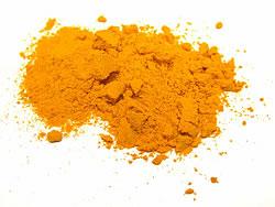 ターメリック パウダー - Turmeric Powder 【200g 袋入り】の写真2 - 鮮やかな黄金色のターメリック。色付けや香り付けに使われます。