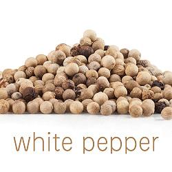 ホワイトペッパーホール - White Pepper Whole 【100g 袋入り】
