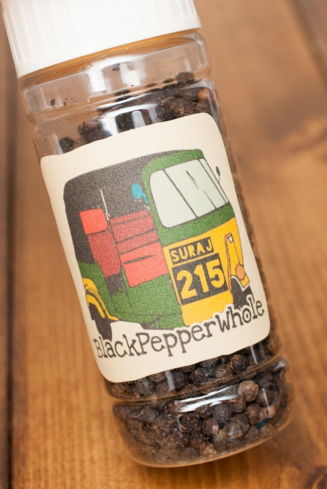 ブラックペッパーホール(100g) Black Pepper Whole  - オリジナルパッケージでお届けします