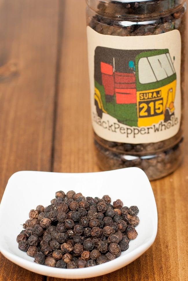ブラックペッパーホール(100g) Black Pepper Whole の写真1