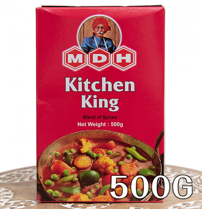 キッチンキング スパイスMix - 500g 大サイズ 【MDH】の写真