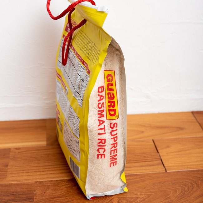 バスマティライス 5Kg − Basmati Rice 【GUARD】 3 - 横からの写真です