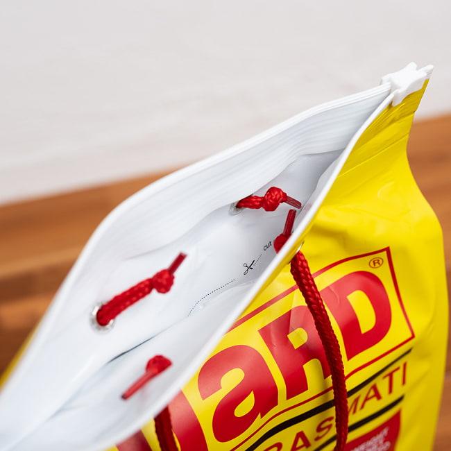 バスマティライス 5Kg − Basmati Rice 【GUARD】 8 - 開封後はチャックで開け締めできるようになっています