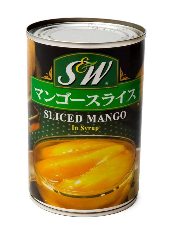 マンゴースライス 缶詰 【425g】の写真