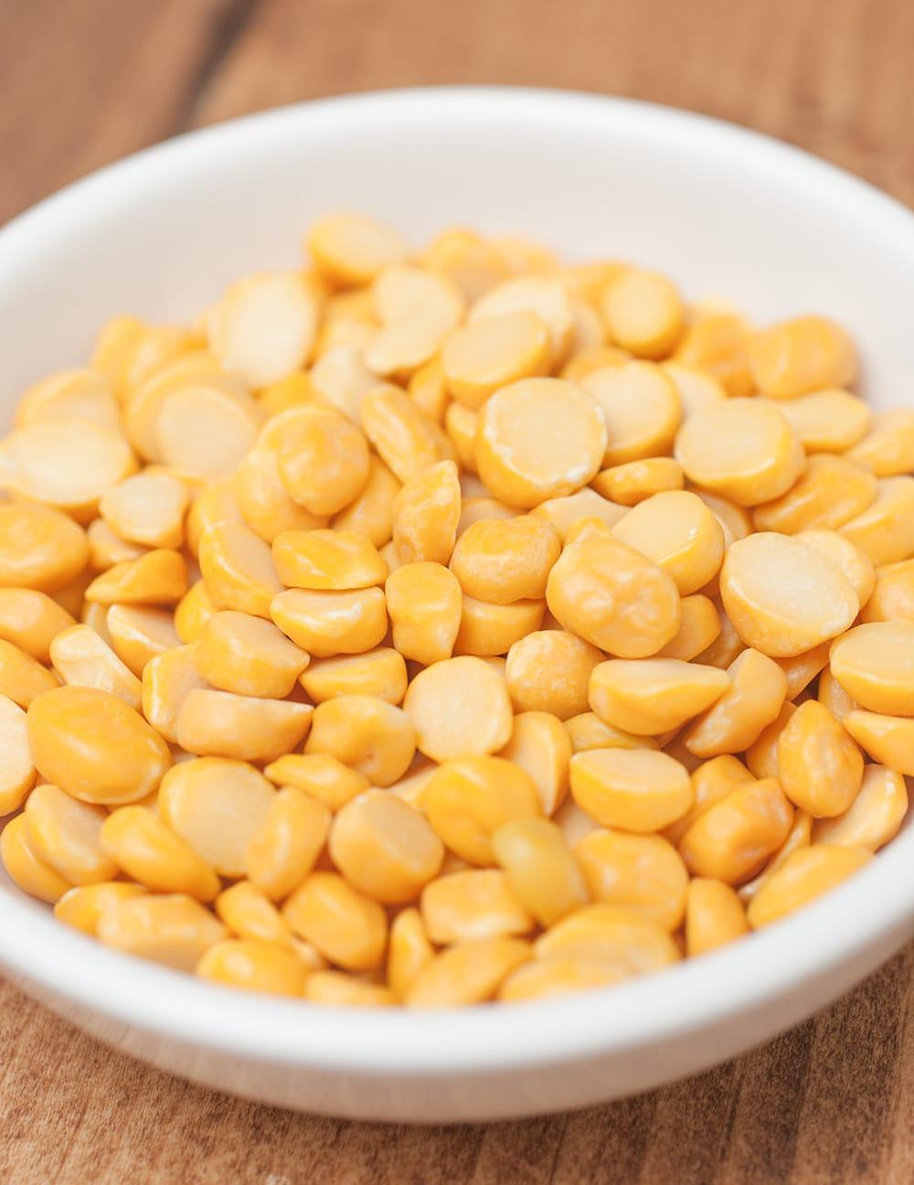 ひよこ豆(皮なし) Chana Dal 【500gパック】 2 - 煮えやすくて美味しいひよこ豆