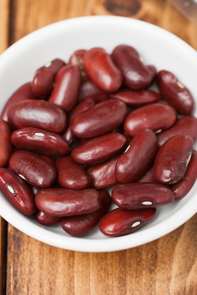 ラジマ豆(レッドロビア) Rajma (Red Lobia) 【400gパック】 2 - 食べごたえのある豆です。