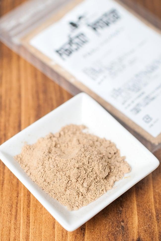 アムチュール(ドライマンゴー) パウダー Amchur Powder【20gパック】の写真