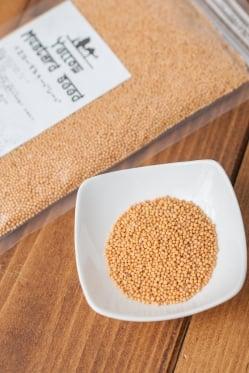 イエロー マスタード シード Yellow Mustard Seed 【100gパック】(ID-SPC-383)