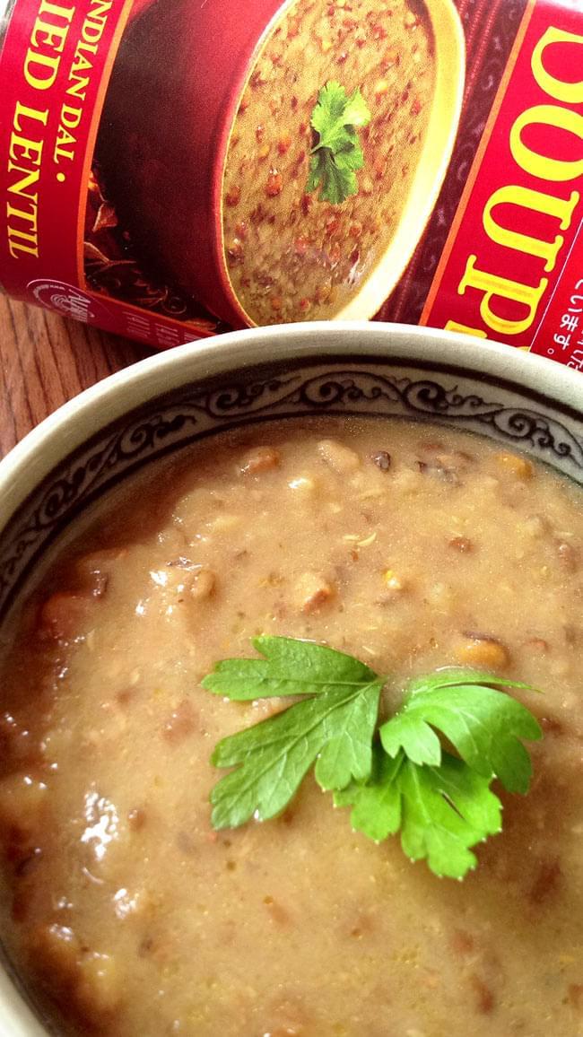 インディアン ダル レンティル スープ 缶詰 - Curried Lentil Soup 【Amy's Kitchen】 2 - 美味しいです。ご飯にパンに、チャパティに本当に美味しいです。手抜きなしで、本当に丁寧に作られている味です。一度、お味見いかがですか?