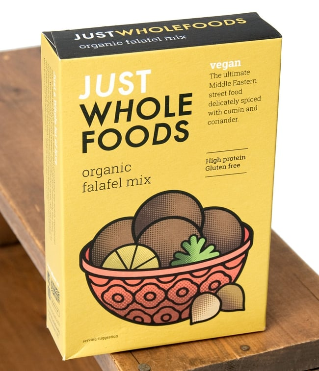 【オーガニック】ファラフェル ミックス - Falafel 【Just Wholefoods】の写真