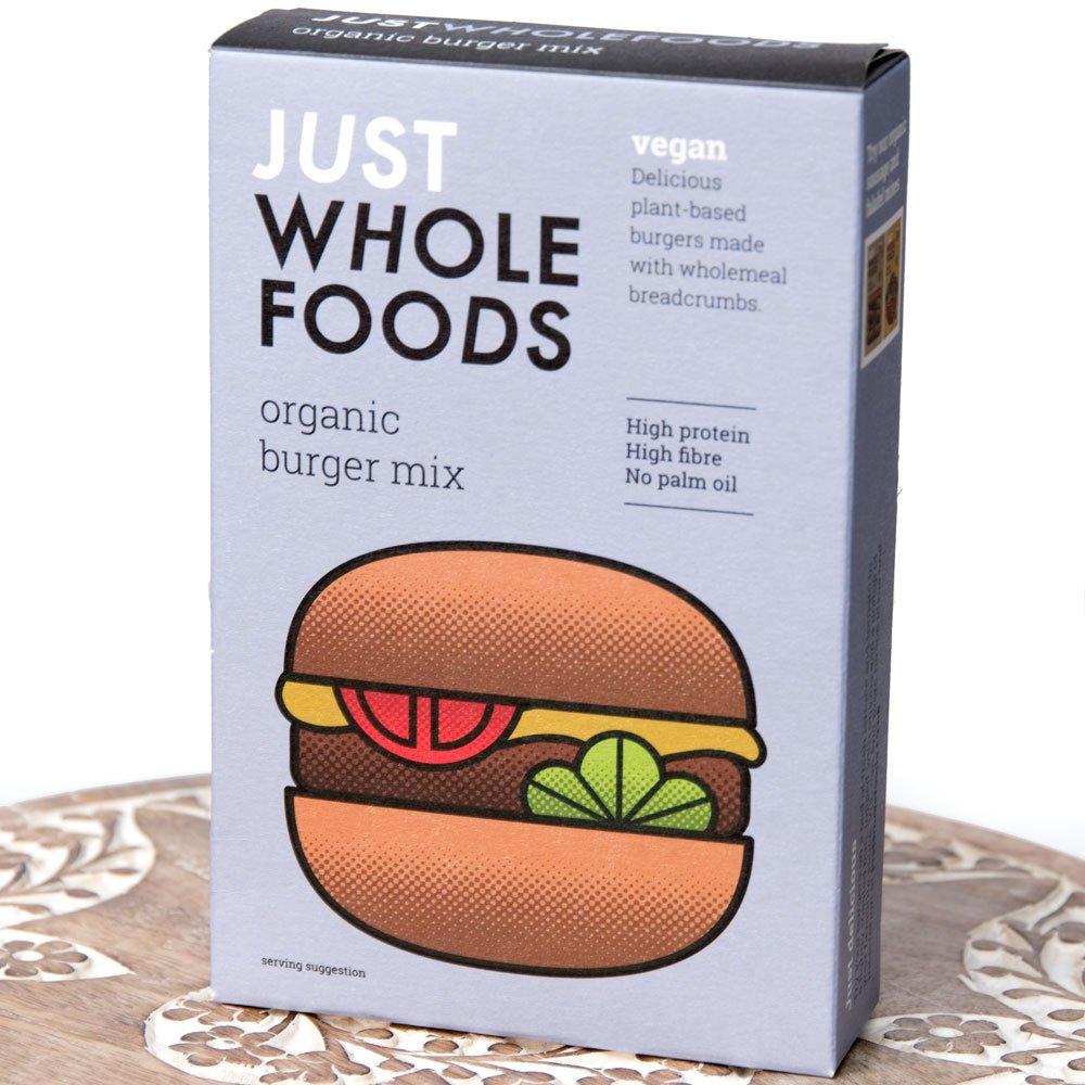 【オーガニック】ベジタリアンバーガーミックス 125g 【Just Wholefoods】の写真