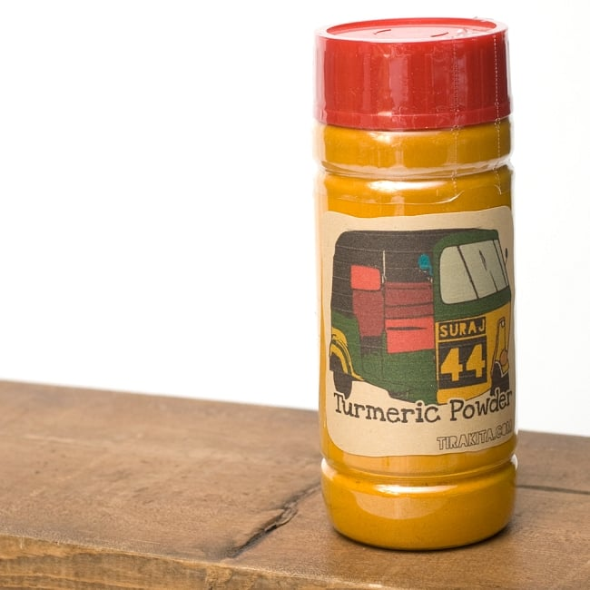 ターメリックパウダー Turmeric Powder 【100gボトル】の写真