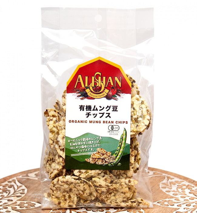 ムング豆チップスの写真