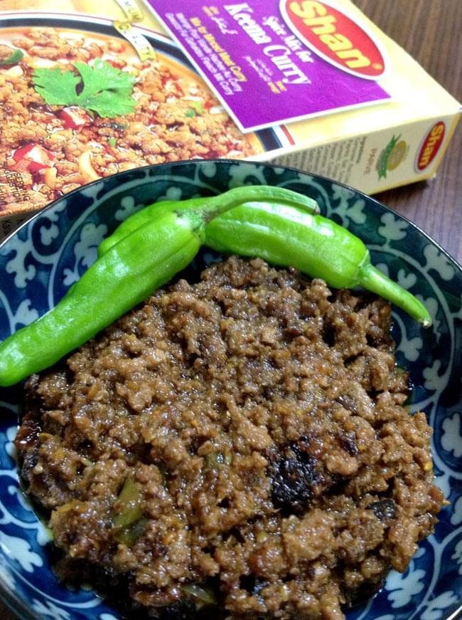 キーマ マサラ スパイス ミックス - 50g 【Shan】 3 - こちらのスパイスを使えば、ひき肉とスパイスが絶妙な本場のキーマカレーが簡単に作れました。スパイスの香りと程良い辛さが食欲をそそります。試食会で大絶賛でした。