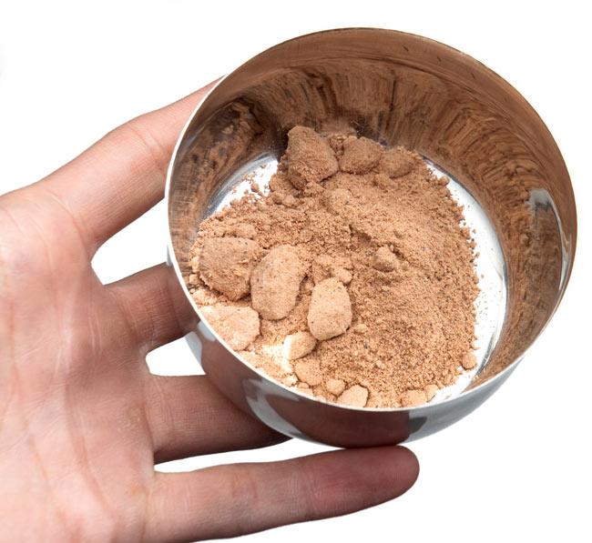 ソープナッツ - インドの天然エコ洗剤&石鹸(Aritha Powder)[250g] 5 - 水をいれる前のソープナッツです。