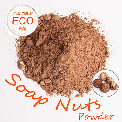 ソープナッツ - インドの天然エコ洗剤&石鹸(Aritha Powder)[250g]の商品写真