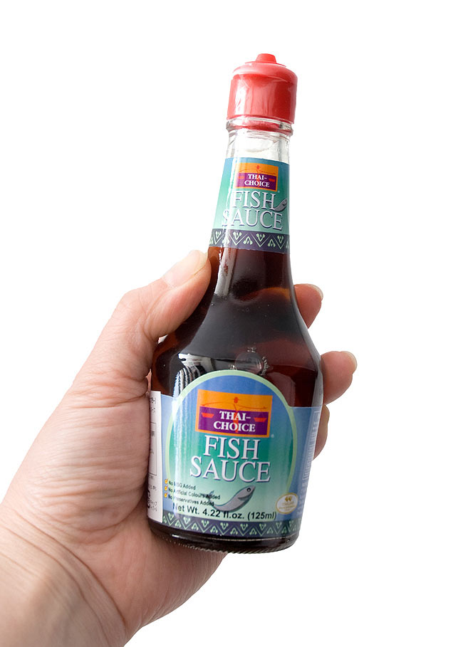ナンプラー フィッシュ ソース 125ml 【Thai Choice】の写真3 -