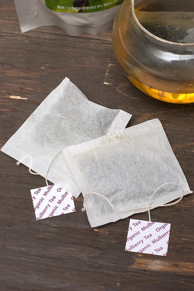 マルベリーティー - 桑の葉茶 【HLJ】 3 - ティーパックになっているので一回分も分かりやすいです。