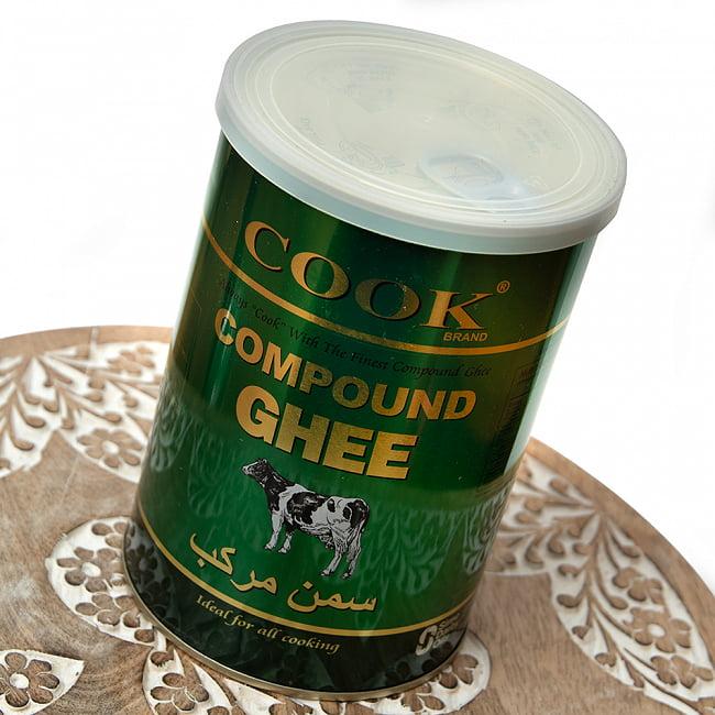 ギー コンパウンド - Ghee Compound の写真2 - 手に持ってみました。カレーはもちろん、トースト、カレー、炒めもの等たっぷり使えます。