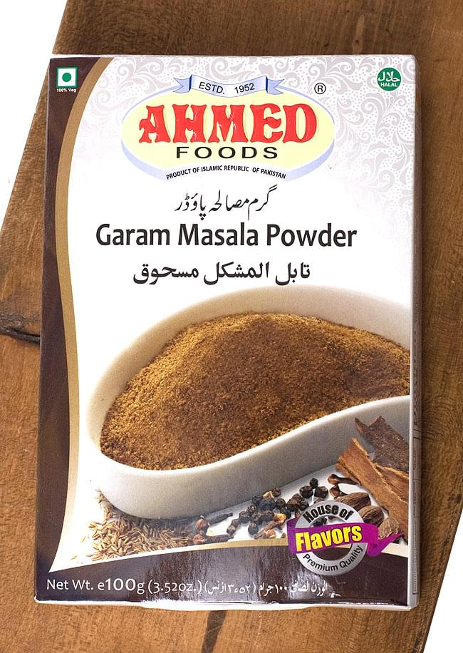 ガラムマサラ 100g  Garam Masala Powder 【AHMED】 1