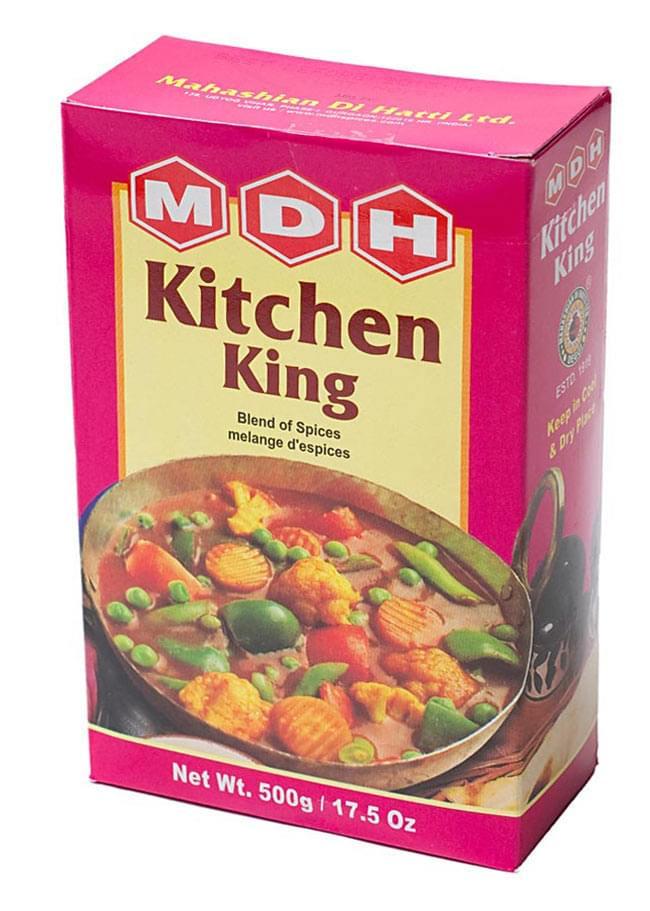 キッチンキング  スパイス ミックス - 100g 小サイズ 【MDH】 - こちらのデザインのパッケージでのお届けになる場合がございます。