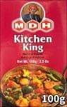 キッチン キング  スパイス ミックス - 100g 小サイズ 【MDH】