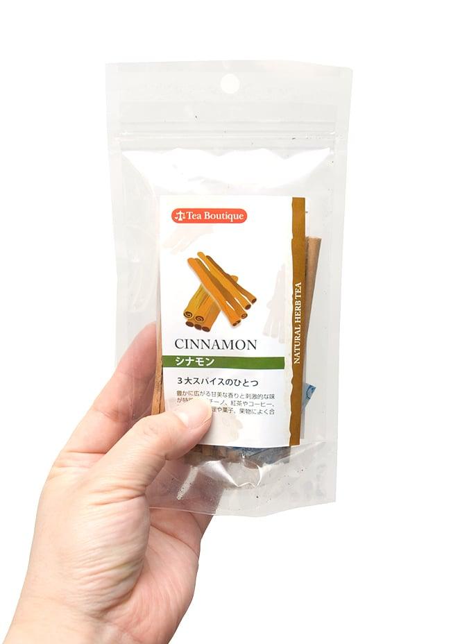 シナモンスティック 25g - Cinamon Stick 【Tea Boutique】 4 - 手に持ってみました。