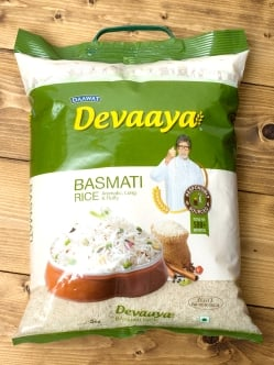 バスマティ ライス 5Kg - Devaaya Basmati Rice 【DAAWAT】