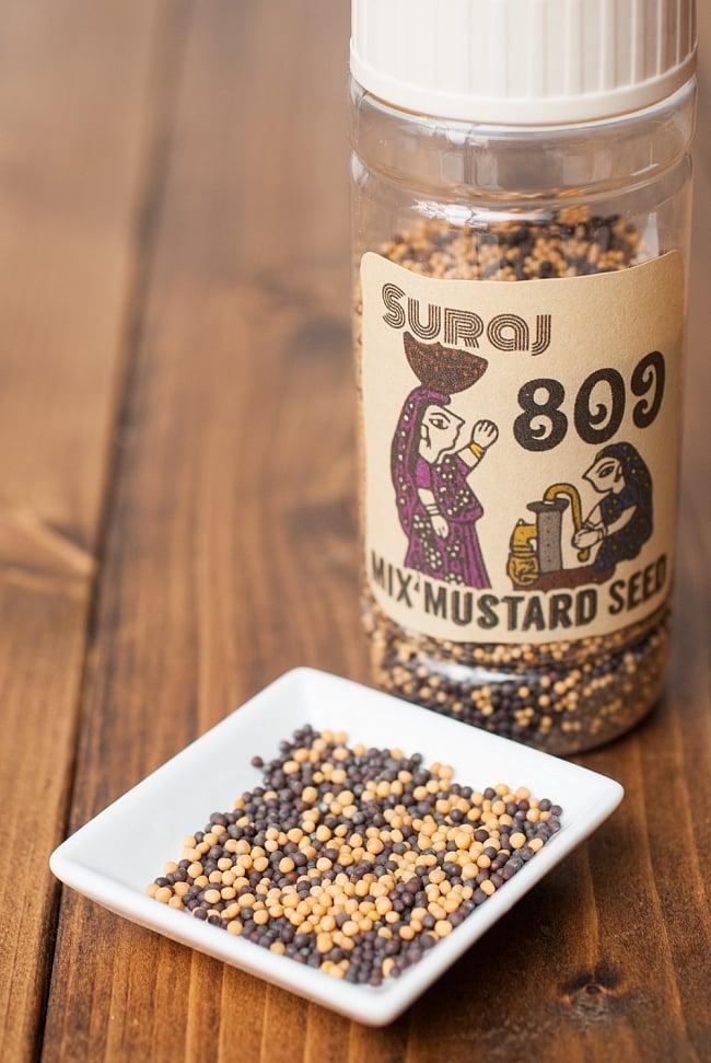 ミックスマスタードシード - Mix Mustard Seed【100g ボトル】の写真